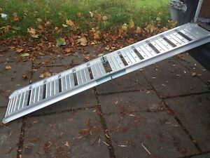 Aluminium motorcycle loading ramp bike ramps 200 kg  cjautos  CR33