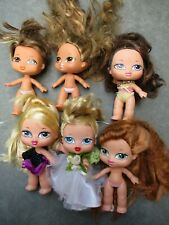 "MGA 6 Bratz Babyz 5"" Need Hair Restyled Cleaning Some Dressed Bride"