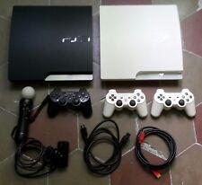 2 PLAYSTATION 3 DA 320GB + 3 JOYPAD + 1 MOVE CON CAMERA + 17 GIOCHI + CAVI