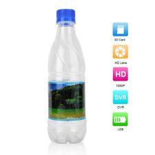 Full HD 1080P Wasser Flasche Spycam Kamera Überwachung Kamera DVR Set?