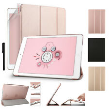 """For iPad 5/6/7th pro 9.7/10.5/11/12.9"""" Air Hard Back Case w/ Folio Stand Cover"""