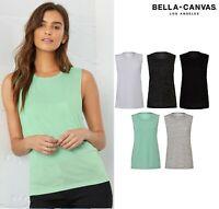 Bella & Canvas Ladies Flowy Scoop Muscle Tee