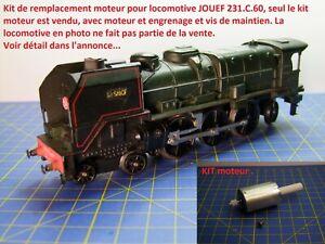 Kit Motorisation locomotive 231.C.60 JOUEF HO avec moteur dans la chaudière
