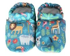 Down in the Jungle,Soft sole baby shoes, Cotton toddler booties, Nonslip booties