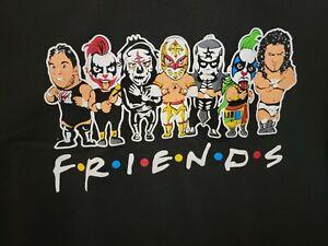 Friends lucha libre t shirt