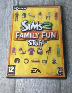 THE SIMS 2 FAMILY FUN STUFF - PC GAME ADD-ON EXPANSION PACK- ORIGINAL & COMPLETE