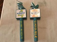 New listing 2 Different Islamorada Beer Tap Handles, Channel Marker Ipa, Islamorada Ale