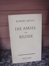 Die Amsel, von Robert Musil