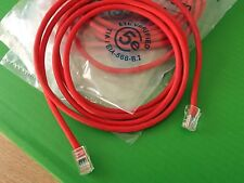 RJ45 2 Meter Patchlead Internet TV IPTV Cable Cat5 e Patch Lead NO Boots Red 1pc