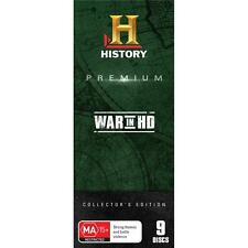 History Premium Collection: War In HD DVD Box Set R4 New Sealed