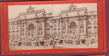 STEREO - 230813 - ITALIE ROME fontaine de Trévi