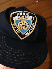 Ultra Rare 1980's New York Police Department Trucker Hat Cap Obsolete NYPD