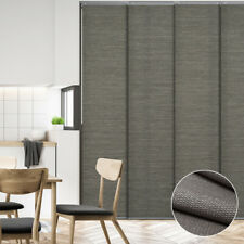 Natural Woven Sliding Panel Vertical Blind Glass Patio Door Vertical Blinds