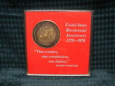 """1976 Publisher Clearing house Bicentennial Medal with case 1 1/2"""" Dia"""