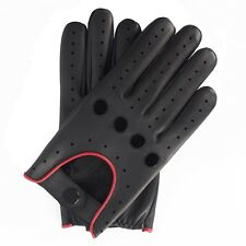 MENS CLASSIC  GENUINE LEATHER FASHION DRIVING CHAUFFEUR GLOVES S-M-L-XL
