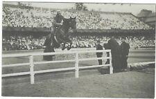 Stockholm 1912 Olympics Official photographic card Nr 253 Cpt Adlercreutz Sweden