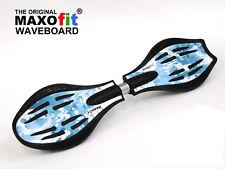 "Waveboard MAXOfit® Pro Close Mini ""Ice"" mit Leuchtrollen"