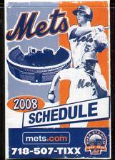 Schedule Baseball New York Mets - 2008 - Verizon Jose Reyes