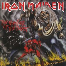 Iron Maiden - The Number Of Beast   Vinyl LP  New & Sealed