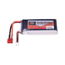 ZOP Power 7.4V 4200mAh 30C 2S Batería Lipo T Plug Para RC Drone Coche Barco