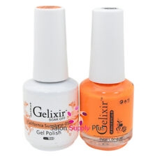 GELIXIR Soak Off Gel Polish Duo Set (Gel + Matching Lacquer) - 058