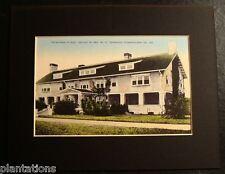 """STAFFORD PLACE"" HOUSE OF CARNEGIE, CUMBERLAND ISLAND, GEORGIA, Print"