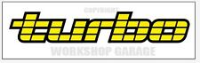 VL TURBO Holden Commodore - YELLOW TEXT - Stickers