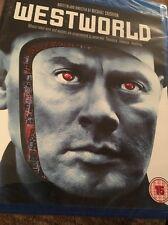 Westworld (Blu ray Region Free) Yul Brynner FAST SHIPPING Factory Sealed
