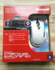 Microsoft IntelliMouse Explorer 3.0 / 9000FPS / 25G / 54IPS Optical Mouse, White