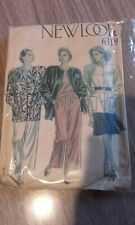 Vintage New Look Dressmaking Sewing Pattern Shoulder Pad Outfits 1980s size 8-18