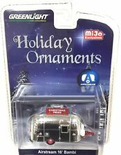 GREENLIGHT 1:64 HOLIDAY ORNAMENTS AIRSTREAM 16' BAMBI DIECAST CAR 51078