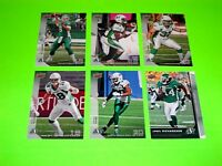 6 SASKATCHEWAN ROUGHRIDERS UPPER DECK CFL FOOTBALL CARDS 36 69 74 75 76 139 #-2