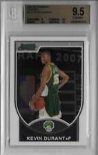2007-08 Kevin Durant Bowman Chrome RC- BGS 9.5 Gem Mint w/10 sub... #1103/2999