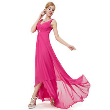 Ever-Pretty Pink Christmas Holiday Homecoming Party Long Maxi Dress 09983 Size 4 Hot Pink 12