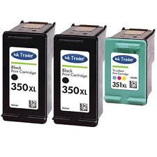2x 350XL & 1x 351XL HP Ink Cartridges for HP Photosmart C4580 Printers