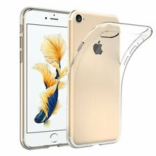 For iPhone 8 Case Clear Silicone Slim Gel Cover & Stylus Pen