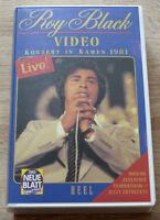 Roy Black - Konzert in Kamen 1981 (1996) VHS-Video, RARITÄT, gebraucht