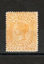 Australia - Victoria 1885 2s 6d yellow MH