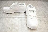 Propet LifeWalker Strap Athletic Shoes, Men's Size 8M, White