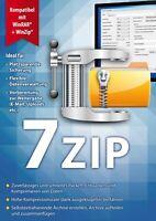 7ZIP - Packen – Entpacken – Komprimieren - ZIP,RAR,TAR,7z uvm. Download Version