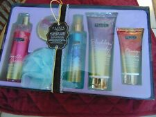 Olive Grace 6 pc Body Care Gift Set New Wash Mist Lotion Scrub Butter Shower