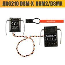 6Channel AR6210 DSM-X 6-Channel DSM2/DSMX Receiver+Satellit Spektrum Transmitter