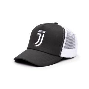 JUVENTUS BLACK & WHITE FAN INK MESH-BACKED HAT