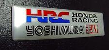 HRC Exhaust Sticker Decal CBR CBX VFR XR 400 600 900 1000 Hornet Parts