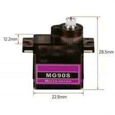 Mitoot MG90S Metal gear Digital 9g Servo For Rc Plane Helicopter Boat I7Z8
