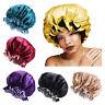 Band Hair Care Head Cover Night Sleep Cap Hair Loss Beanies Satin Bonnet
