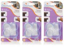 Dream Baby Round Corner Protectors - 3 x 8 Pack = 24 Count