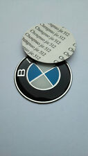 Logo BMW 45mm Fregio Stemma Emblema Volante SERIE 1 2 3 5 6 7 X1 X3 X5 X6