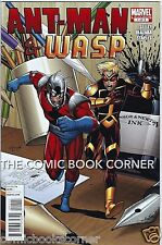 Marvel Comics 2010 ANT MAN AND WASP #1 Near Mint Condition Avengers