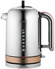 Dualit Classic Kettle 1.7L Polished & Copper with Whisper Boil DU72790